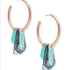 Kendra Scott Gaby Hoop Earrings